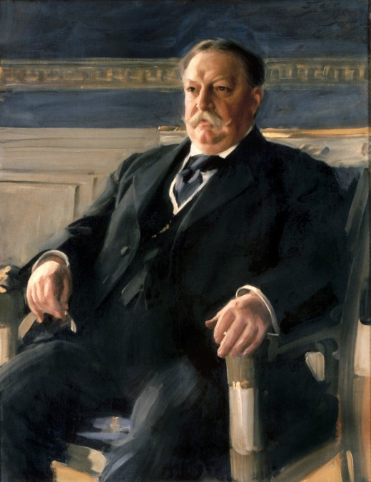 William Taft's official White House portrait