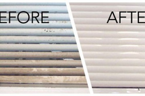 Unclean window shades could mar the entire décor of your home