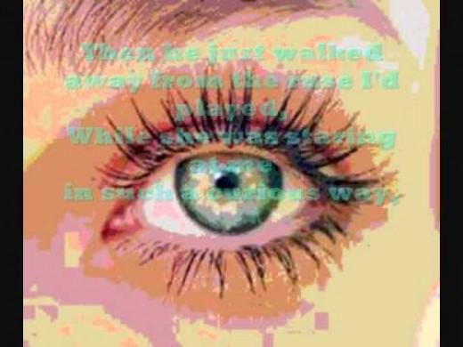 a lovely eye