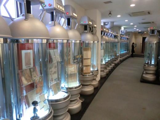 Inside the Tezuka Osamu Manga Museum