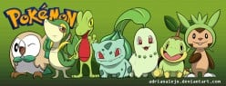 20 Years of Pokemon: Fire, Water and Grass. Grass Starters?