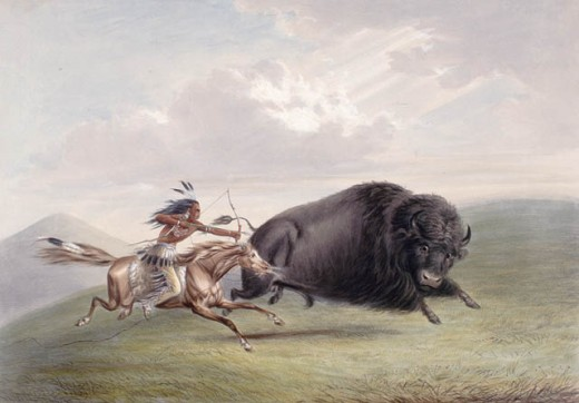 Shamans would often look to take on the form of a specific animal in order to have a more successful hunt.