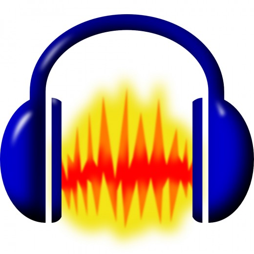 Logo and program icon of the free digital audio editor Audacity