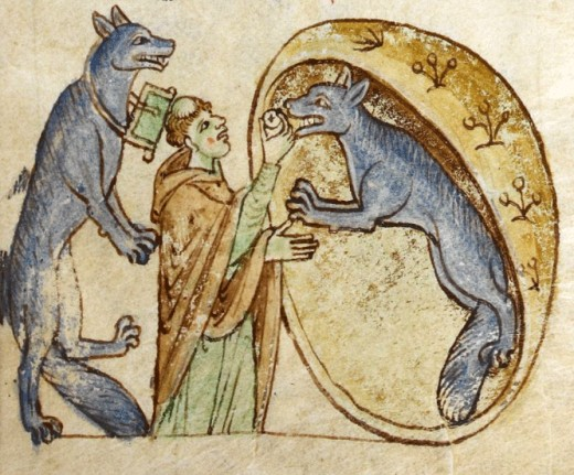 The fear of werewolves ran rampant through Medieval Europe.