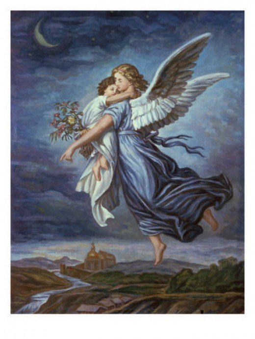 A guardian angel is an angel God has provided for you to watch over you. Even though God can watch over you completely fine on His own, it is still comforting to know someone else is also on your side.