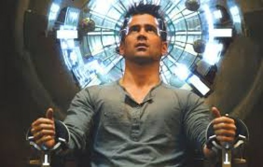 Colin Farrell stars in the 2012 remake of Total Recall which was originally released in 1984.
