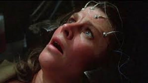 Demon Seed, which was a book by Dean Koontz, was released as a film in 1977 and it centers around an evil, ever evolving computer virus.