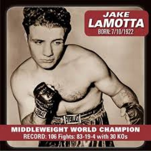 "Jake La Motta has a book and a movie about his life called ""Raging Bull""."