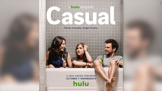 Casual featuring Michaela Watkins, Tara Lynne Bar, and Tommy Dewey.