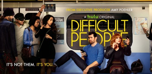 Difficult People featuring Julie Klausner and Billie Eichner.