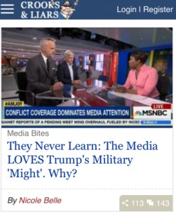 Is the Mainstream Media Really Liberal?
