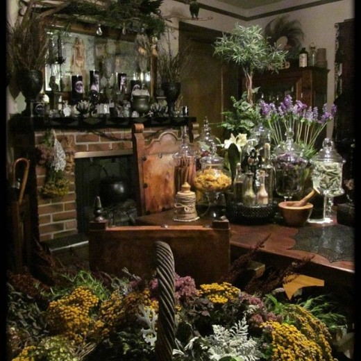 Kitchen witchery common spices and their magical for Pagan decorations for the home