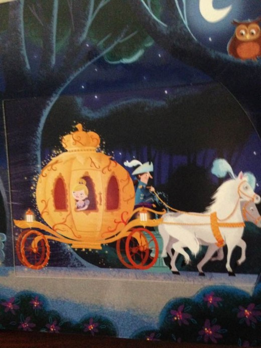 How did the pumpkin turn into a beautiful carriage?  This sparks imagination.