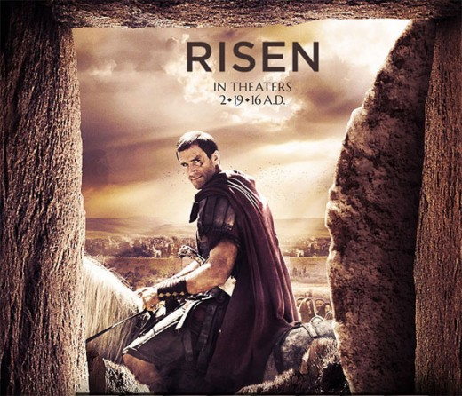Joseph Fiennes...Plays role of Roman tribune ordered to find body of Jesus Christ.