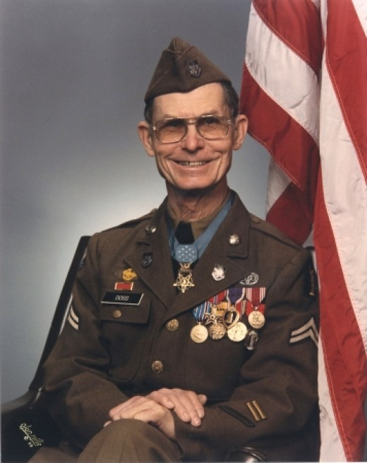 Corporal Desmond T. Doss. 1919-2006.