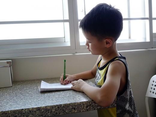 There are fun ways to encourage kids to write