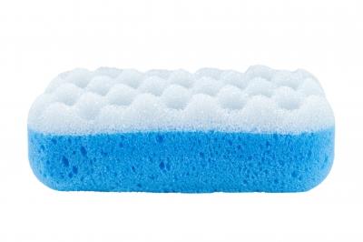 Cut a Dish Sponge Into Cubes - Save a Bundle!