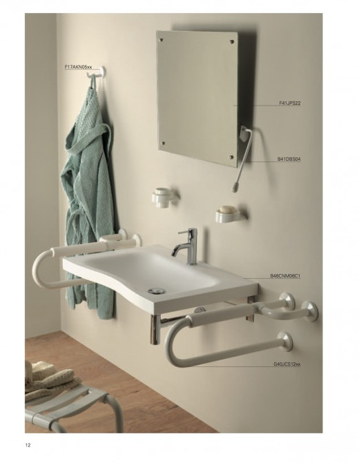 Not all grab bars must be large, ugly eyesore. Finding creative places to put stylish fall prevention products in your bathroom is easier than ever.