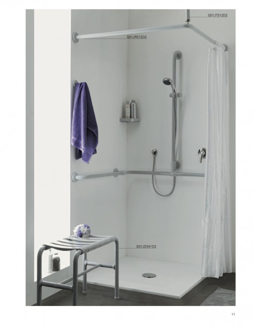 The wet and slippery surfaces in and around your shower create the ideal environment for a fall. Consider installing quality, ADA approved grab bars to prevent you and your loved ones from falling.