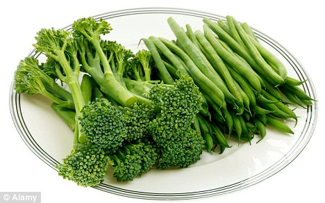 Broccoli and beans