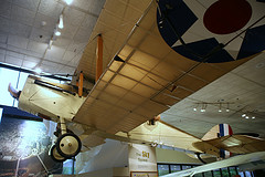 Dehavilland DH-4 Bomber on display in the Smithsonian
