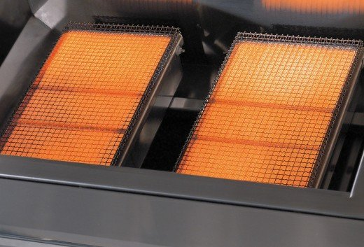 Infrared Burners in a Solaire Grill