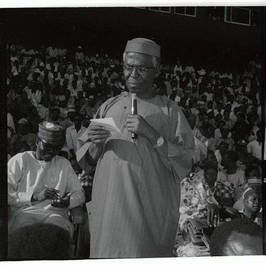 Chief Obafemi Awolowo of Nigeria