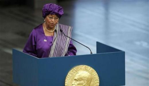 Liberian President, Ellen Johnson Sirleaf