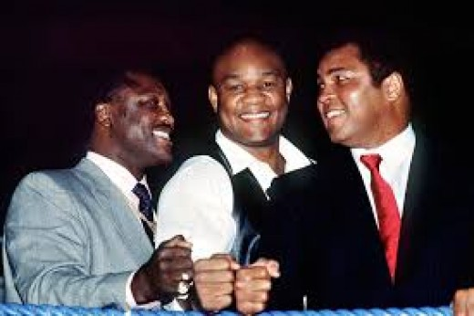 Joe Frazier, George Foreman and Muhammad Ali all have two things in common. They all won gold medals and all three won heavyweight titles.