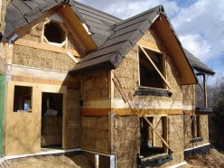 Straw Bale House Construction - Part 3