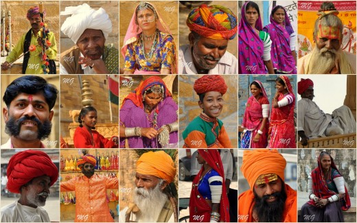 A Glimpse Of People In Rural India