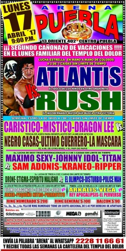 CMLL Puebla Preview: An Anniversary Show Main Event in Arena Puebla