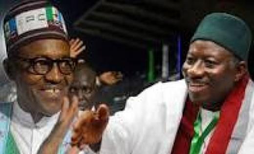 President Buhari and Dr. Good Luck Jonathan