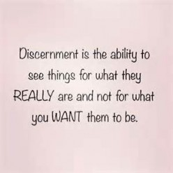 Discernment - A Skill Needed by Some Millennials