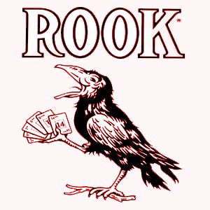 The Rook card is always confused with a sly-thinking crow.