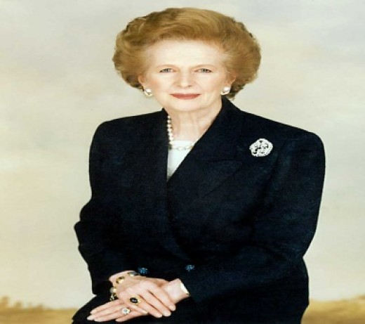 RT.HON. Margaret Thatcher, M.P           First Woman Prime Minister of Great Britain and Northern Ireland.