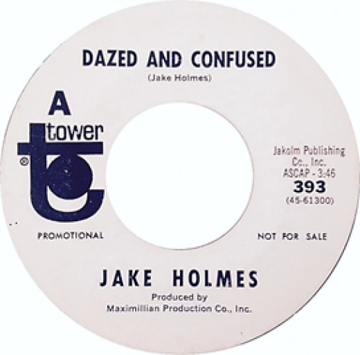 Dazed and Confused by Jake Holmes was released two years before the Led Zeppelin version
