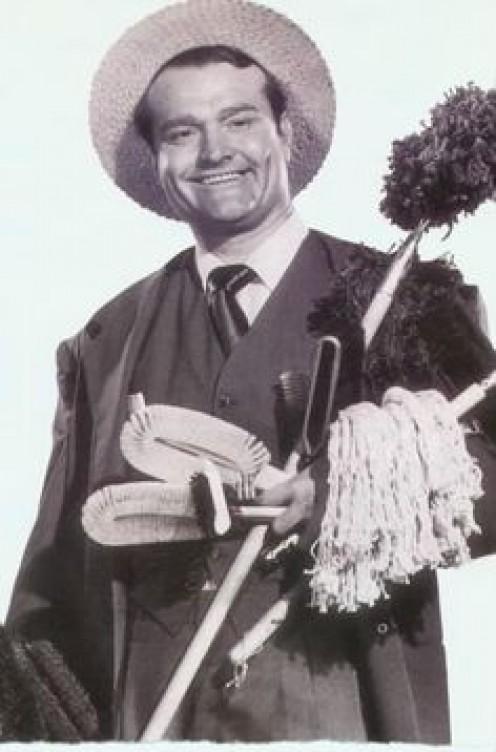 Red Skelton in film  about brush salesmen.