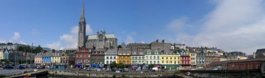 Cobh Seafront.