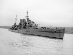 The Cruiser HMS Exeter