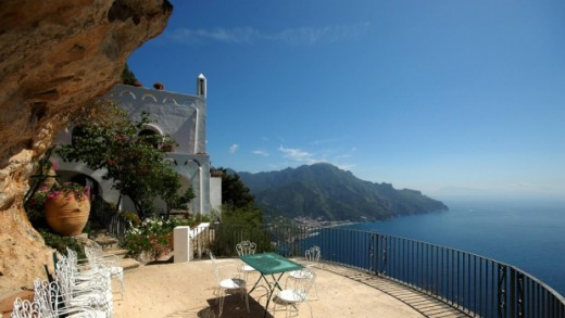 This estate overlooking the Italian Riviera was owned by Gore Vida (and one partner) from 1972 until 2004.