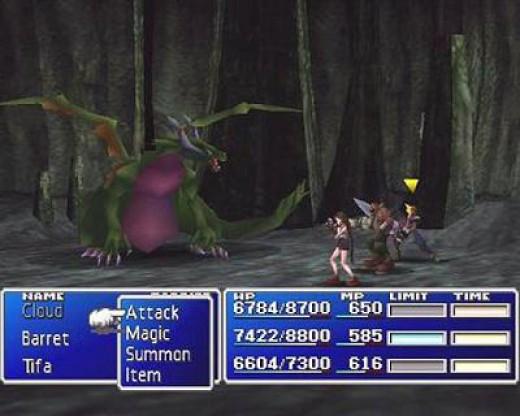 Final Fantasy VII -  a JRPG