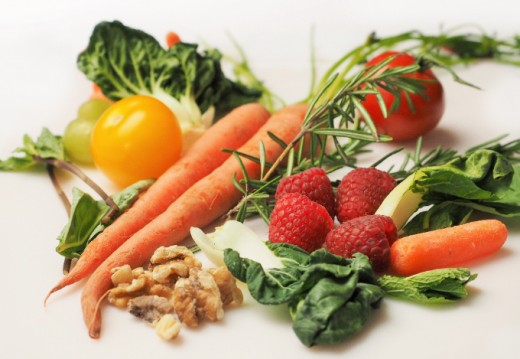 Healthy vegetables for better eye sight!