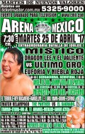 CMLL Tuesday Preview: The Never Ending Niebla Roja Story
