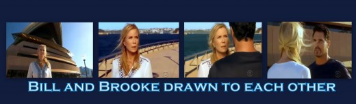 Both at a loss for different reason, Brooke and Bill were drawn to the same harbor front location in Sydney
