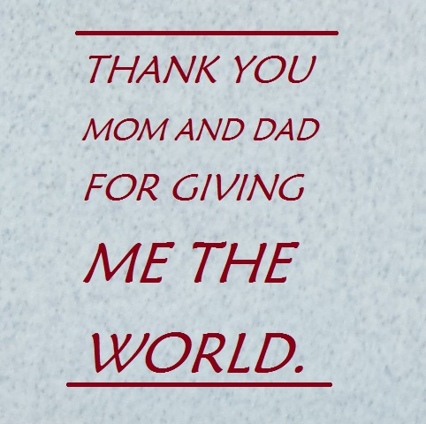 Thank you message for parents on your graduation day hubpages you are my role models and i would like to reassure you that i will never let you down thank you once again for everything mom and dad yelopaper Image collections
