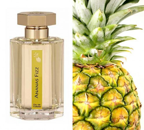 Perfume with pineapple fragrance