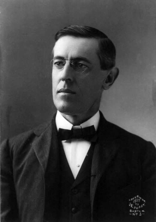 Woodrow Wilson in 1902, shortly after he had become president of Princeton University