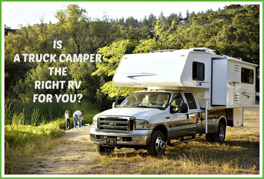 The pros and cons of buying a slide-in camper.
