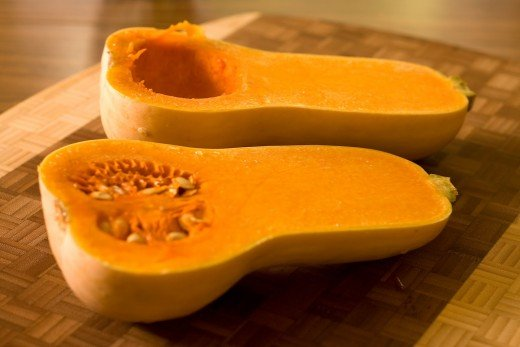 Butternut Squash is a rich source of Vitamin A and beta-carotene which are essential to good health